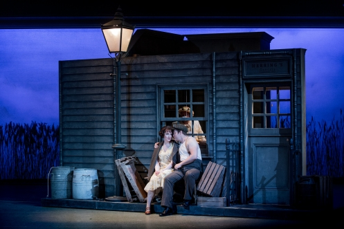 Albert Herring - Benjamin Britten - The Grange Festival - 25 June 2017  Conductor - Steuart Bedford Director - John Copley Set Designer - Tim Reed Costume Designer - Prue Handley Lighting Designer - Kevin Treacy  Lady Billows - Orla Moylan Florence Pike -