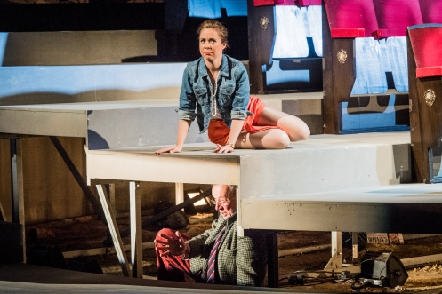 Agrippina - George Frideric Handel - The Grange Festival - 8th June 2018  Conductor - Robert Howarth Director - Walter Sutcliffe Designer - Jon Bausor Lighting - Wolfgang Goebbel  Claudio - Ashley Riches Agrippina - Anna Bonitatibus Nerone - Raffaele Pe P