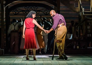 A scene from Porgy and Bess by George Gershwin, DuBose and Dorothy Heyward and Ira Gershwin @ London Coliseum. An English National Opera Production. (Opening 11-10-18) ©Tristram Kenton 10-18 (3 Raveley Street, LONDON NW5 2HX TEL 0207 267 5550 Mob 07973 617 355)email: tristram@tristramkenton.com