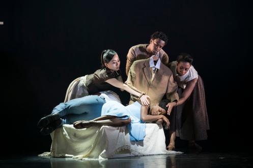 THE SUIT_BALLET BLACK, BARBICAN, Choreographer; CATHY MARSTEN