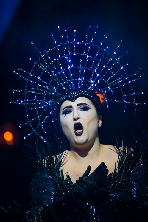 Julia Sitkovetsky (The Queen of the Night) in The Magic Flute. Scottish Opera 2019. Credit James Glossop (2)