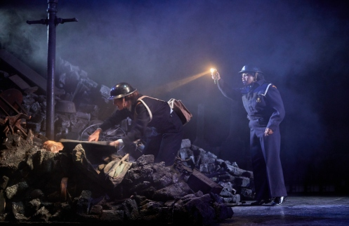 Phoebe Pryce and Mara Allen in The Night Watch by The Original Theatre Company and York Theatre Royal