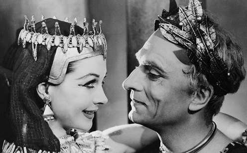 Antony-and-Cleopatra-laurence-olivier-Bettman Corbis