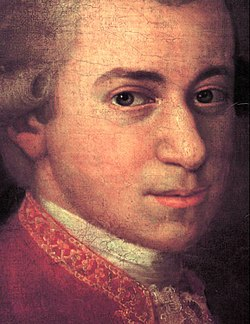 Mozart-Detail Croce